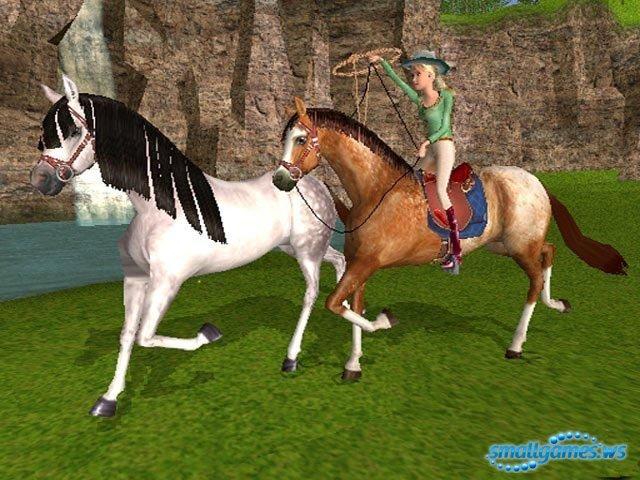 Игры барби лошади и скачки