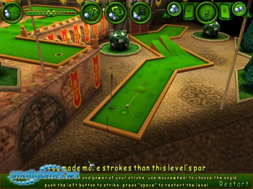 Dreamworld's Open Mini Golf