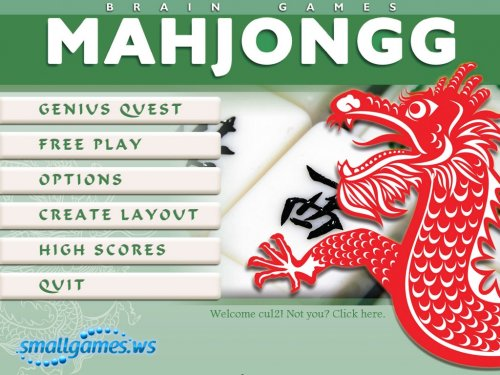 Brain Games Mahjongg