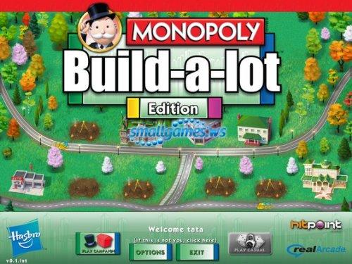 Monopoly Build-a-lot Edition