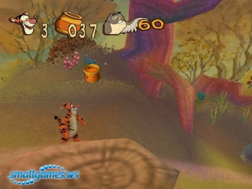 Тигра - охотник за медом