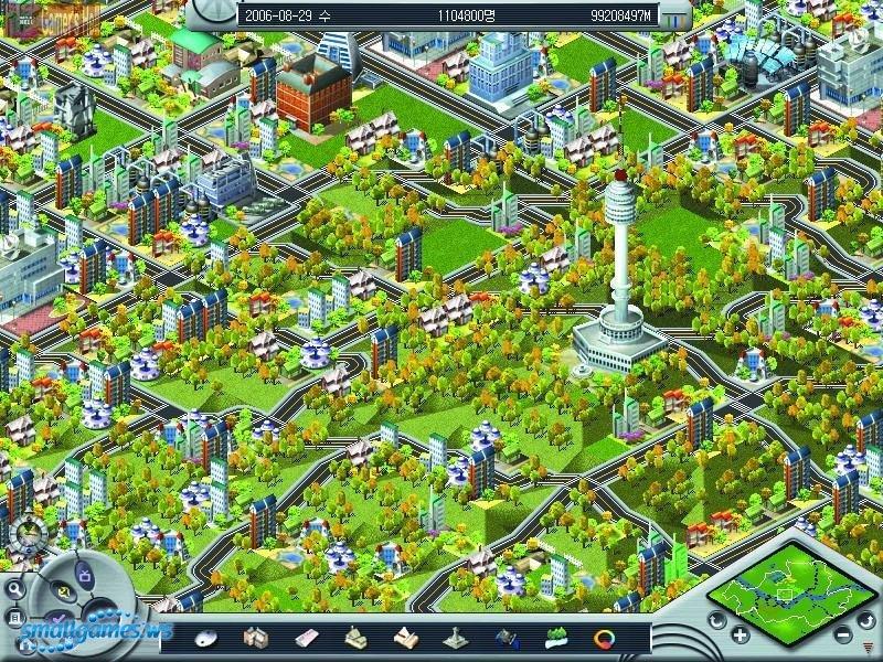 Игра строить город