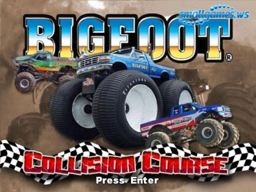 Bigfoot Collision Course