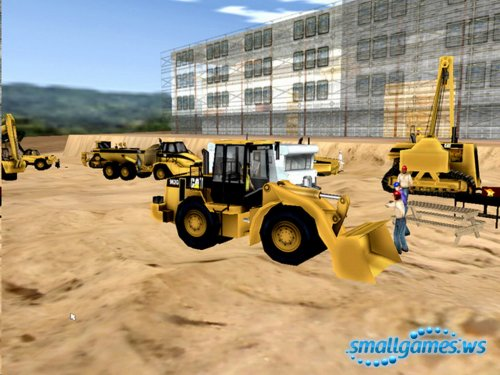 Caterpillar Construction Tycoon(Рус)