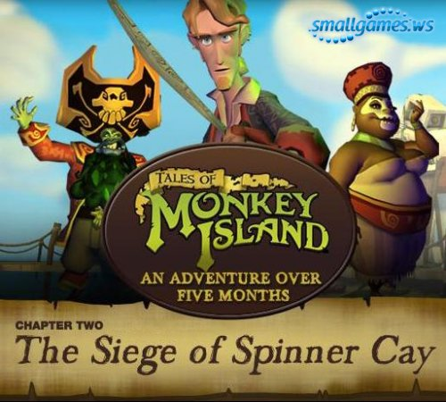 Tales of Monkey Island - Chapter 2 The Siege of Spinner Cay (2009/Eng)