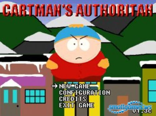 South Park:Cartmans Authoritah