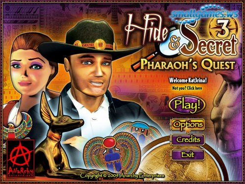 Hide and Secret 3: Pharaohs Secret