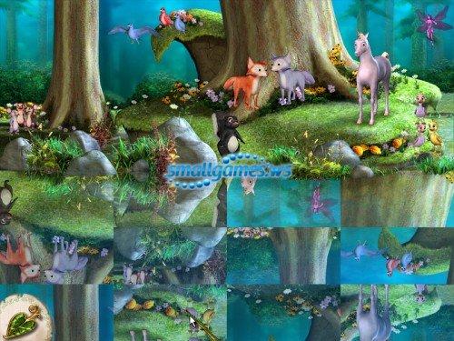 Барби: Лебединое озеро. Заколдованный лес