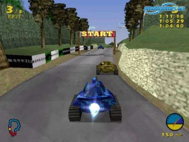 Игра гонки на танках
