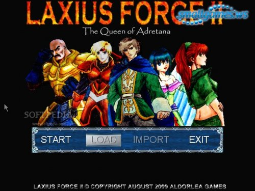 Laxius Force II The Queen of Adretana