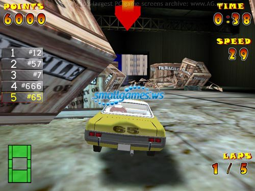 Гонки На Разрушение - Ultimate Demolition Derby