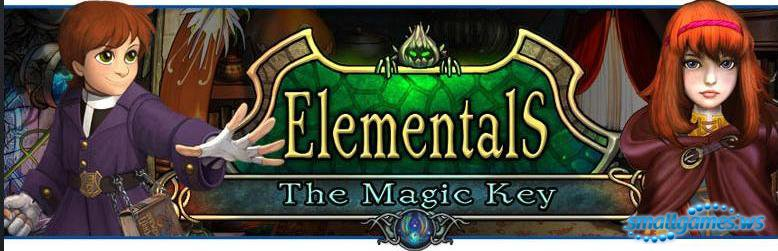 Elementals The MAGIC KEY Hidden Object/Puzzle Game Plunge into the