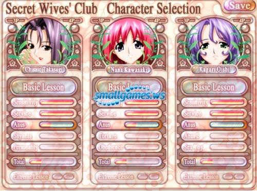 Secret Wives Club - Женский клуб: Запретные удовольствия [VN] [18+] [RUS]