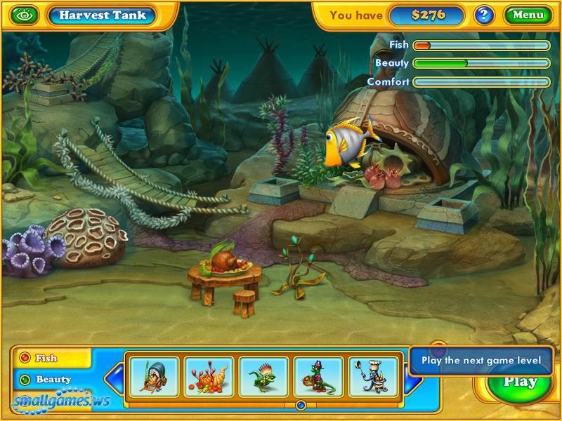 Fishdom harvest splash for Wsbtv fish and game