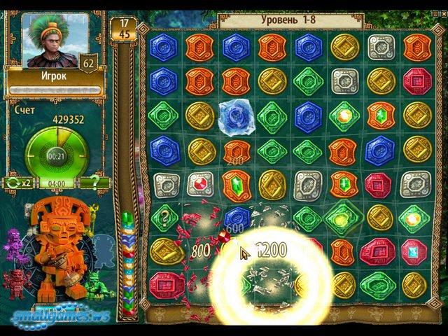 Ключ к игре Сокровища Монтесумы 2 от Алавар. Скачать.
