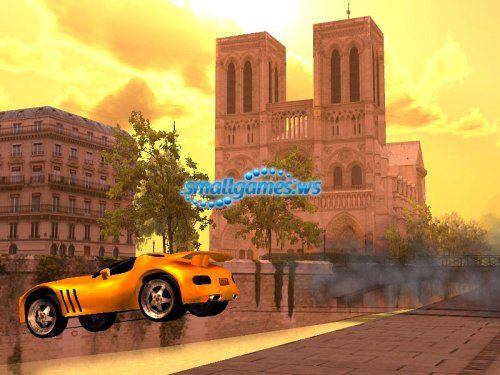 Стритрейсер – Парижский удар