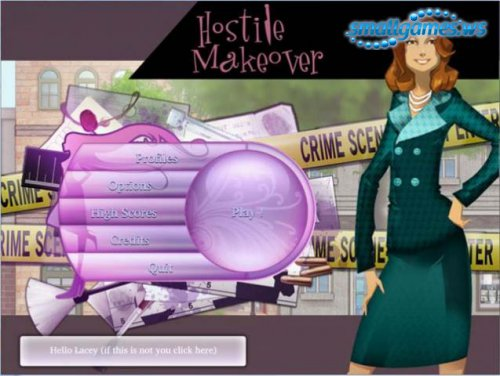 Hostile Makeover - A Fashion Murder Mystery Game