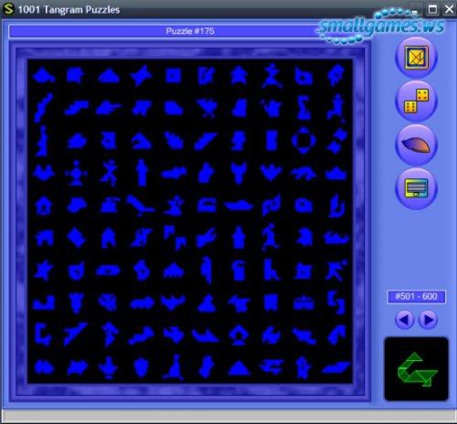 1001 Tangram Puzzles