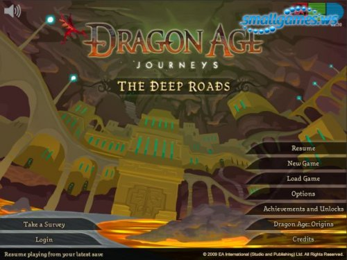 Dragon Age Journeys: The Deep Roads