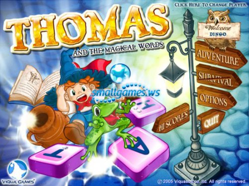 Thomas And The Magical Words