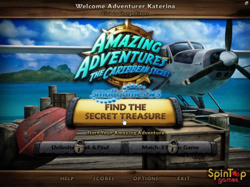 Amazing Adventures 3: The Caribbean Secret