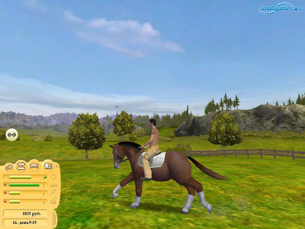 скачать игру про лошадей конный клуб королева скачек