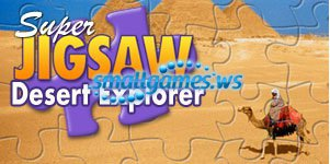 Super Jigsaw: Desert Explorer