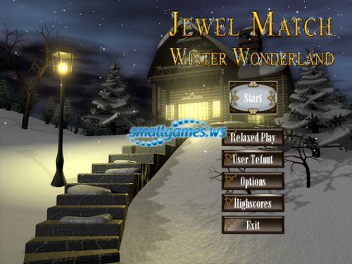Jewel Match. Winter Wonderland