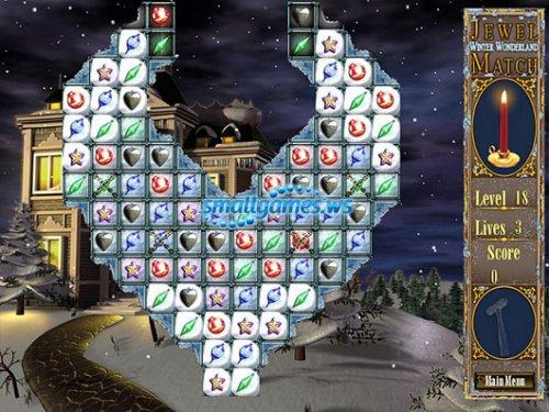 Jewel Match. Winter Wonderland