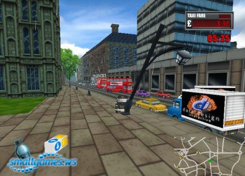 Лондонское такси:Час пик / London Taxi:Rushour