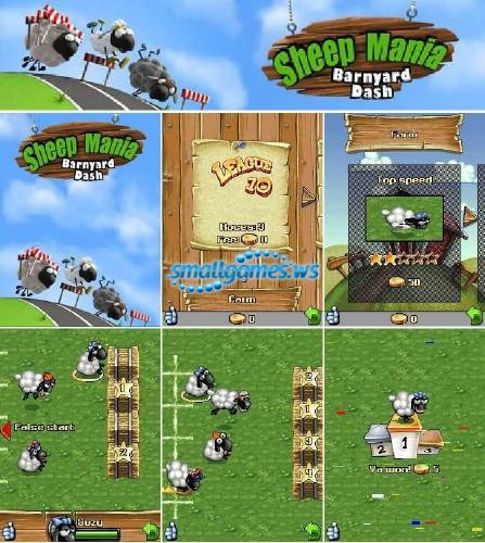 Sheep Mania Barnyard Dash