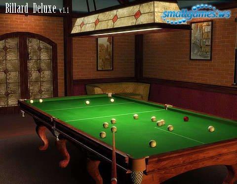 Billard 3D Deluxe 1.1 (Rus)