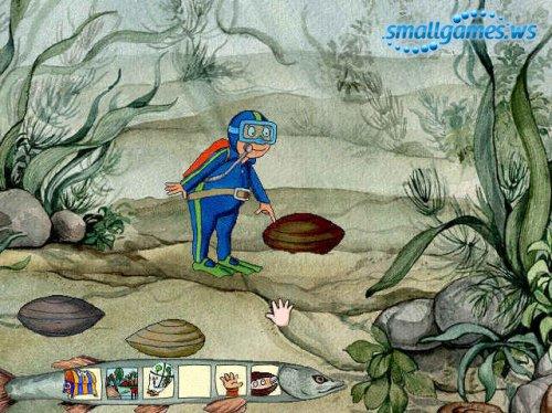 Оскар-путешественник и озерные жители