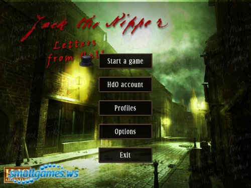 Hdo Adventure: Jack the Ripper. Letters from Hell