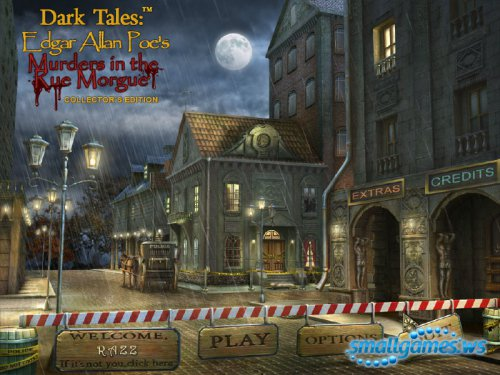 Dark Tales�: Edgar Allan Poe Murders in the Rue Morgue Collector�s Edition