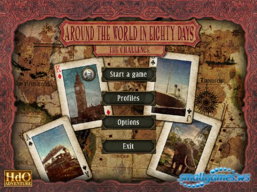 HdO Adventure: Around the World in 80 Days - The Challenge