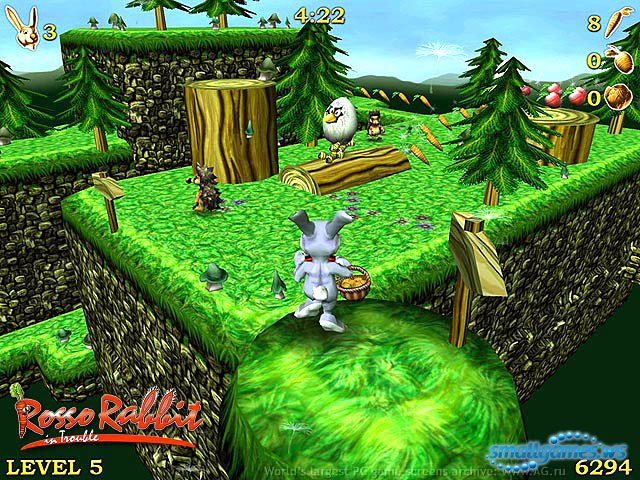 игра rosso rabbit