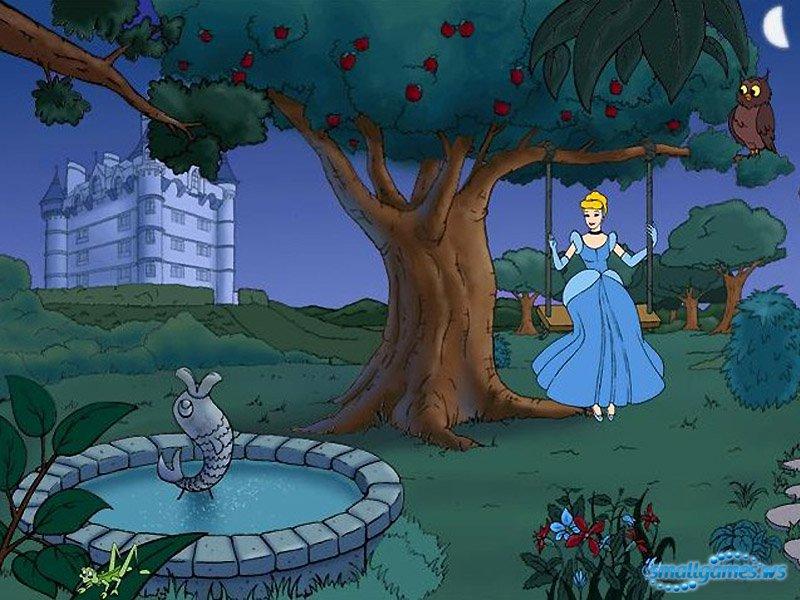 Скачать принцессы. платье для золушки
