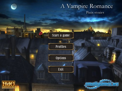 Hdo Adventure: A Vampire Romance. Paris Stories