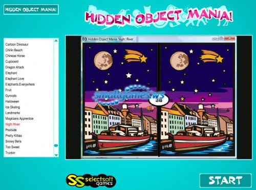 Hidden Object Mania