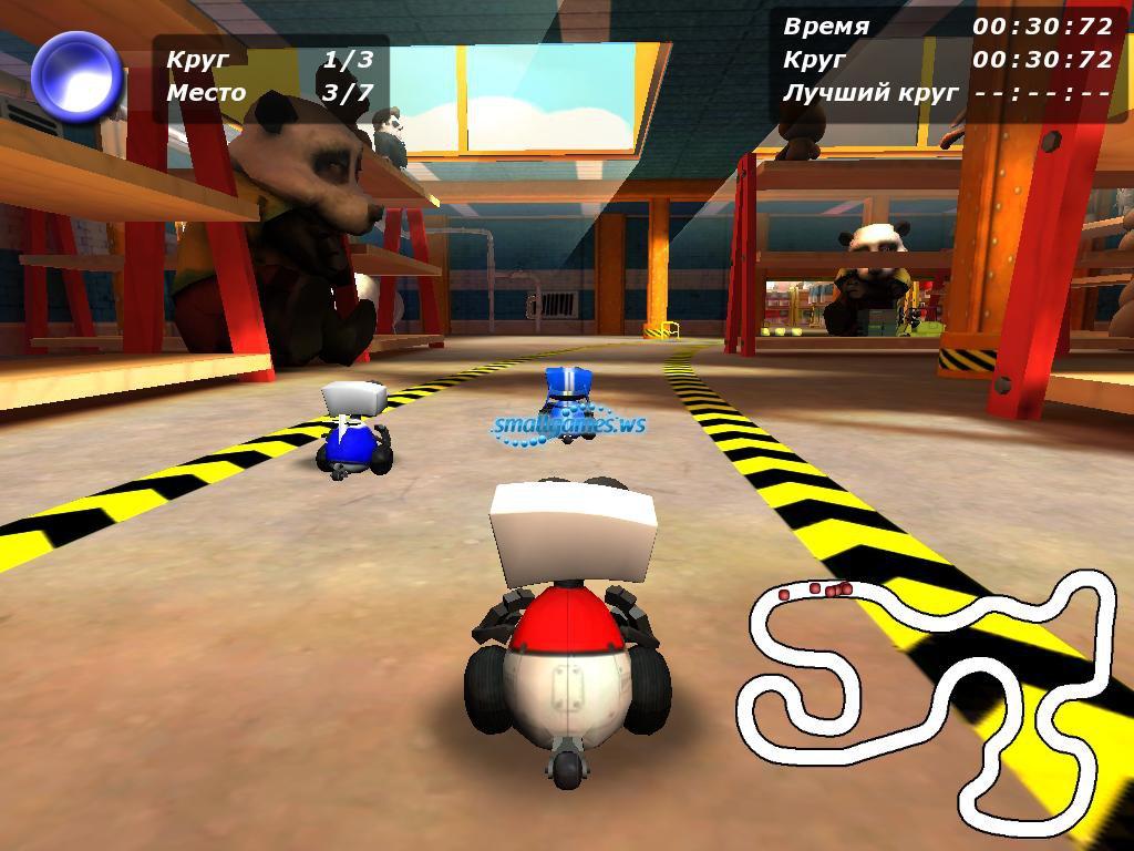 скачать игру роботоп гонки через торрент