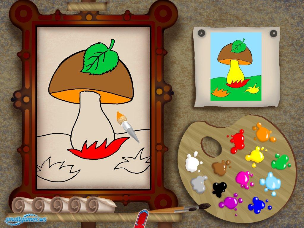 скачать игру лунтик учится рисовать через торрент бесплатно