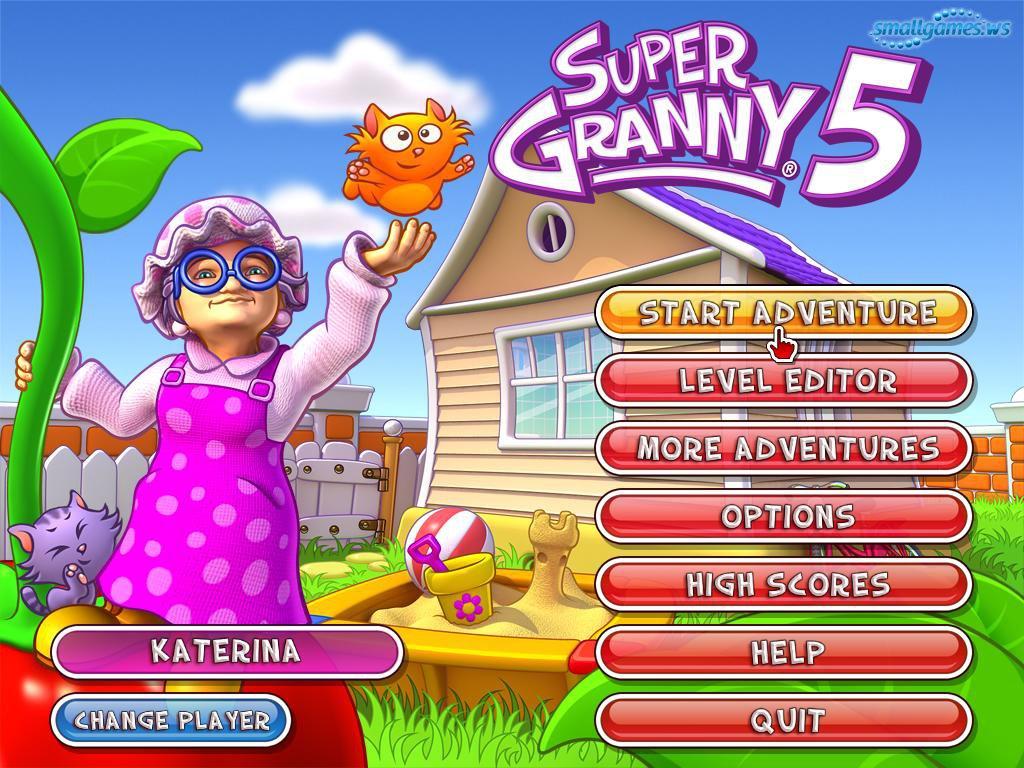 Free Online Super Granny Games 14