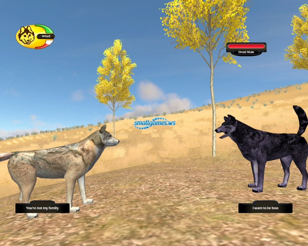 скачать игру Wolfquest и Wolfquest Survival Of The Pack - фото 2