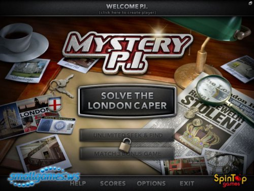Mystery P.I.- The London Caper