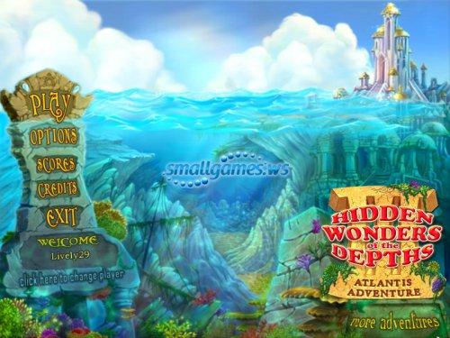 Hidden Wonders of the Depths 3: Atlantis Adventure
