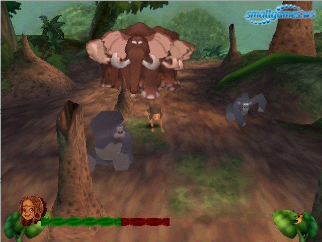 Игры Игру Тарзан И