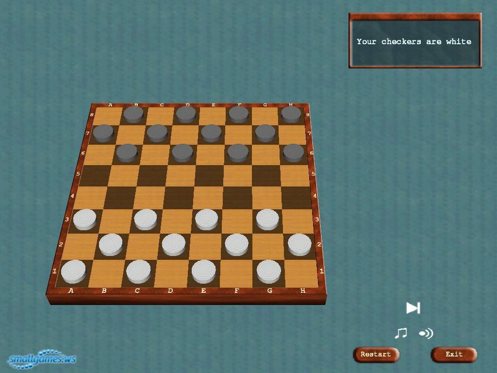 Игра Шашки скачать на компьютер