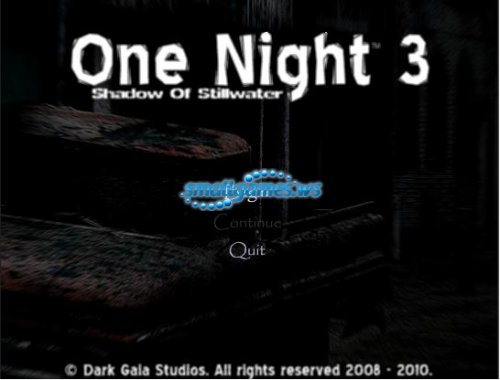 One Night 3: Shadows Of Stillwater