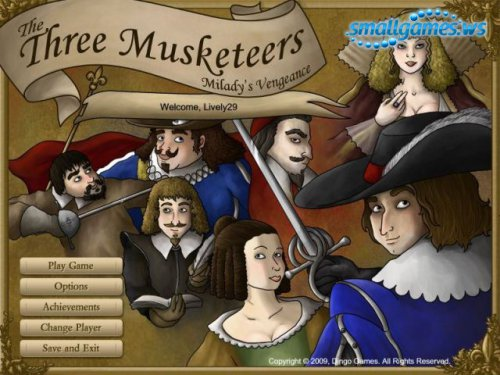 Musketeers Miladys Vengence